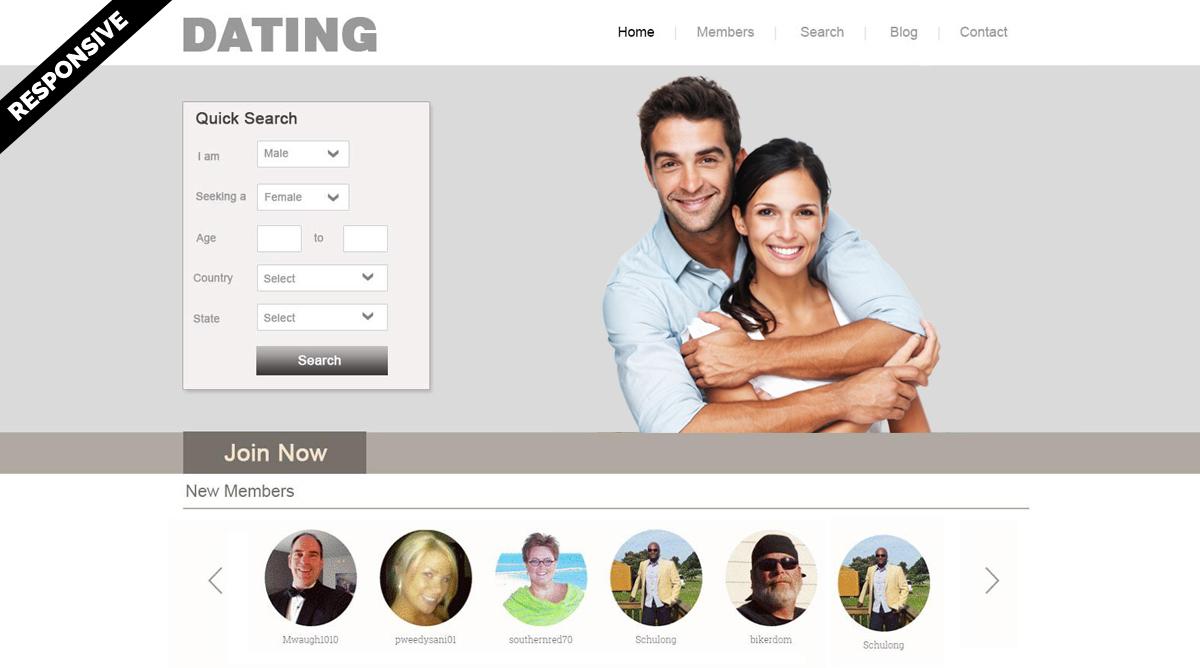 wordpress dating theme free