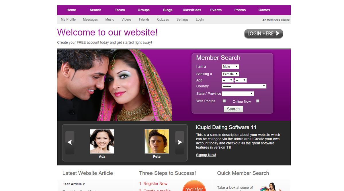 Internationale Online-Dating-Beratung