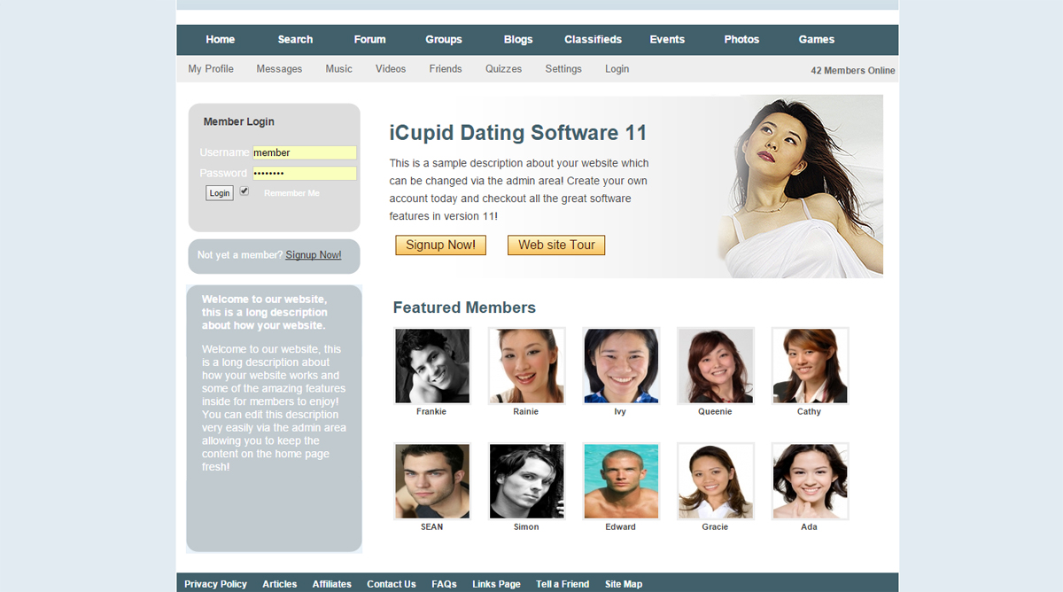 free dating plugin for wordpress