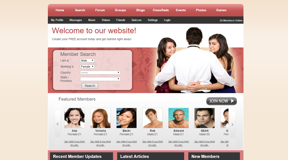 Wordpress dating plugin