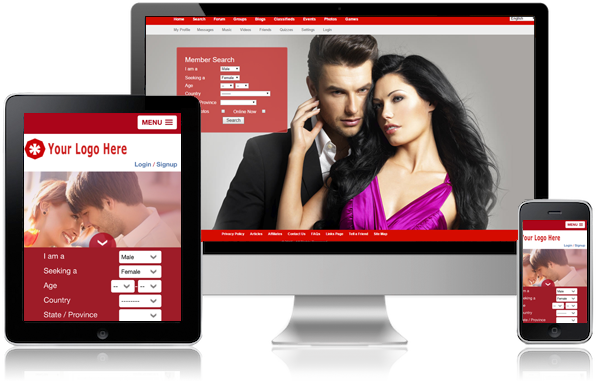 Dating Software Slider