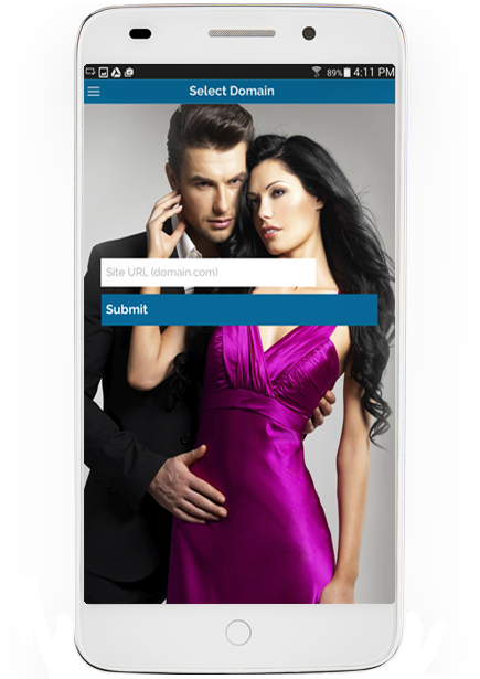 iPhone Mobile Dating App Demo