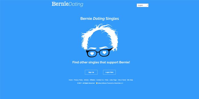 BernieDating.com