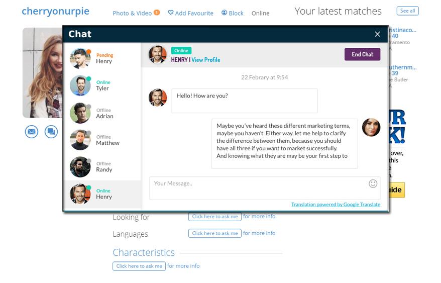 WordPress Dating Plugin Features
