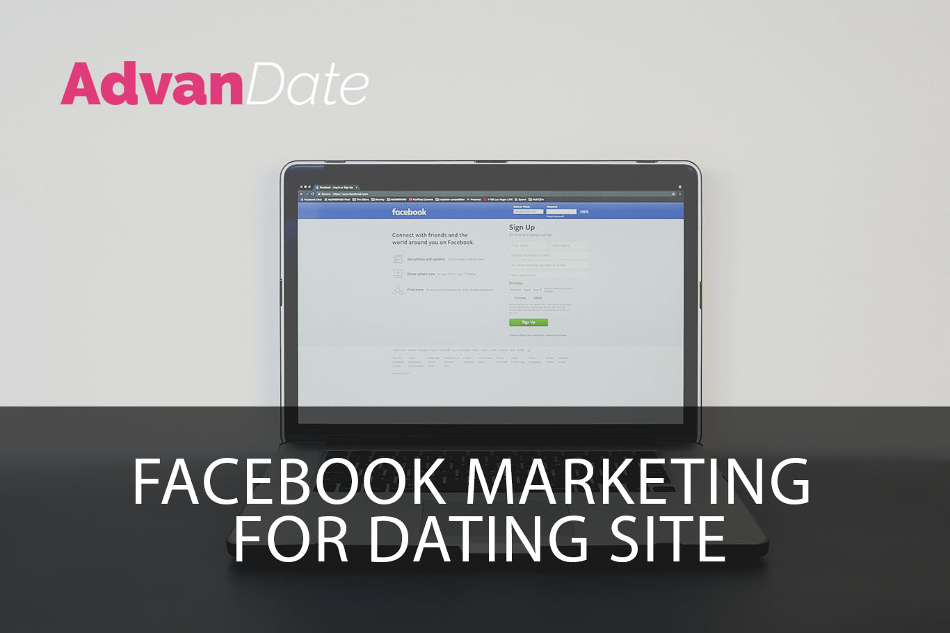 Facebook Marketing for dating site