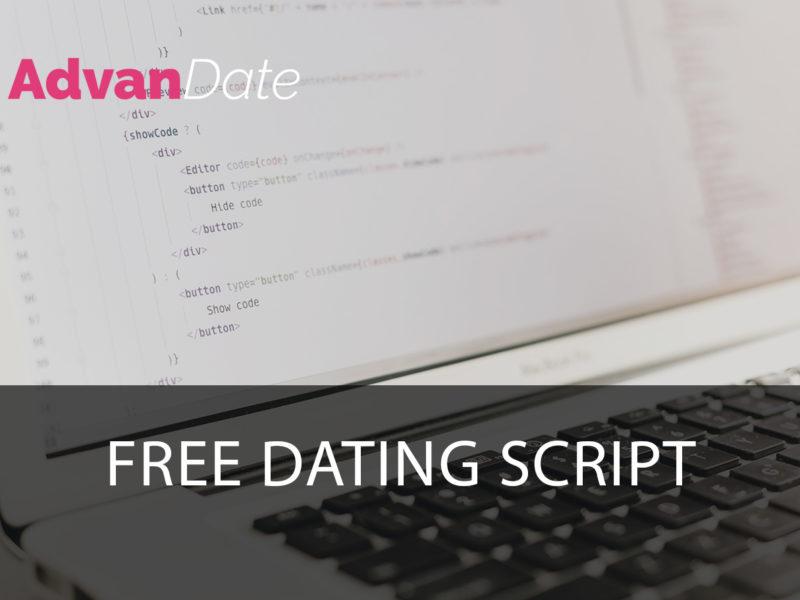 Free Dating Script