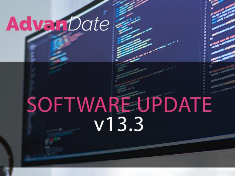 AdvanDate Software update v13.3