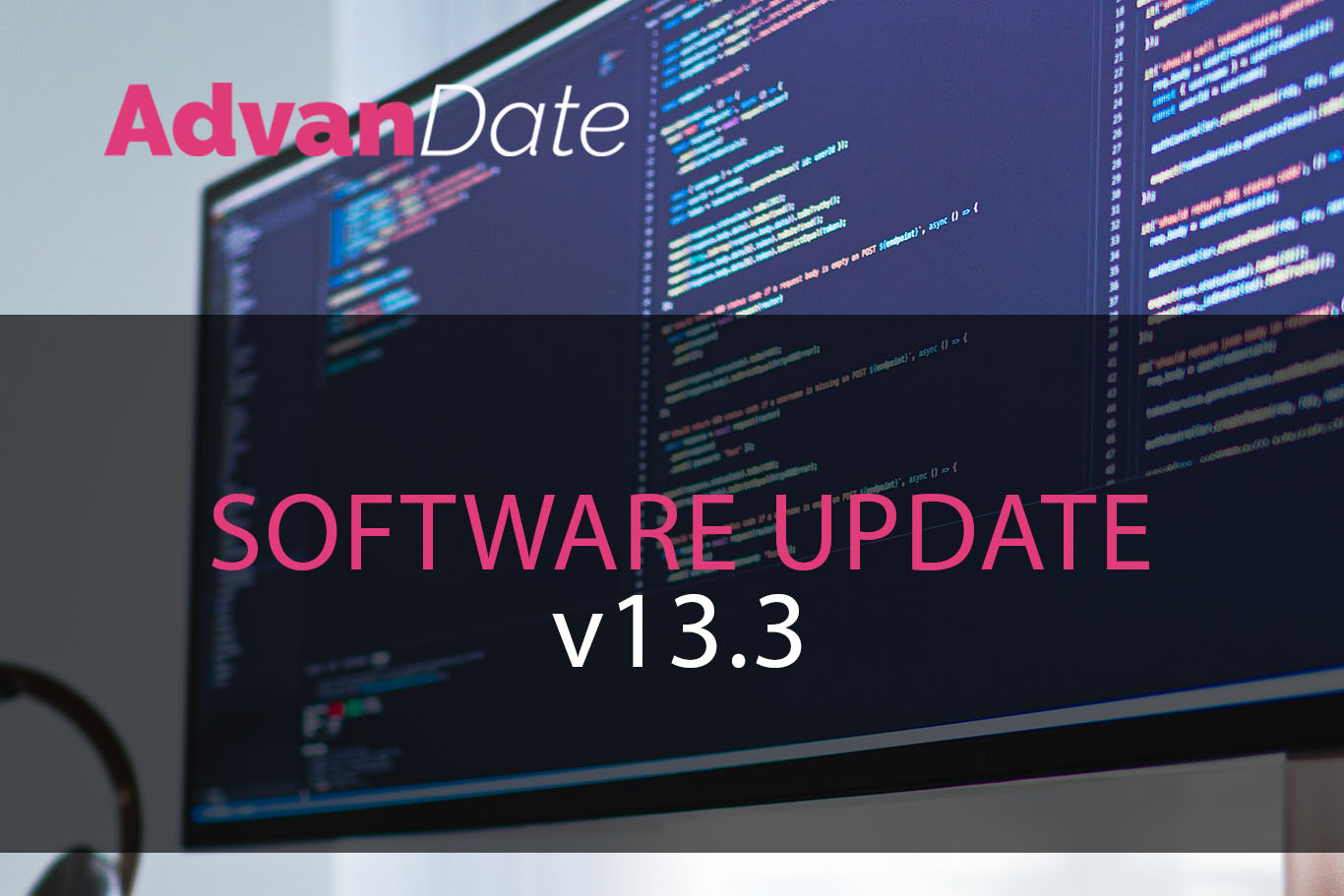 AdvanDate Software update v13.3